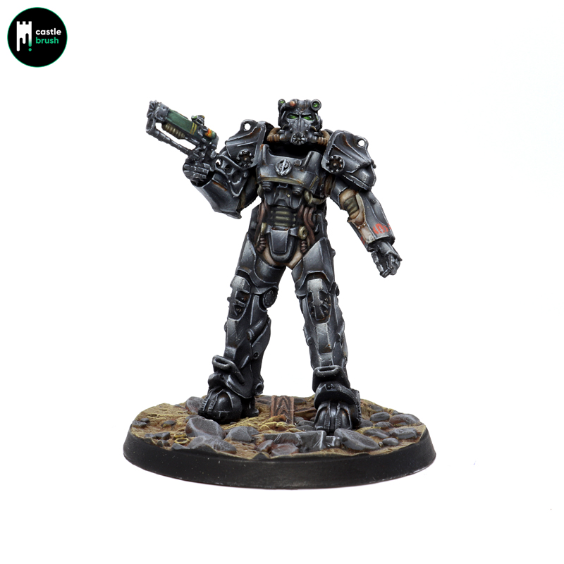 Fallout Wasteland Warfare – Brotherhood of Steel Paladin T-60