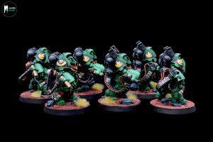 Salamander Aggressors Flame