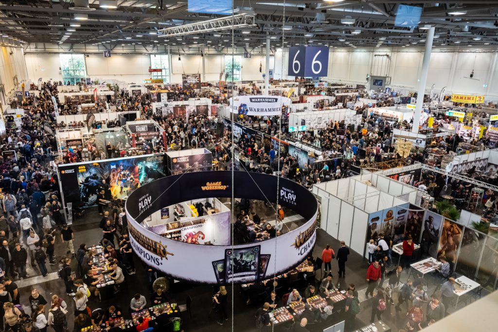 Picture from last year's edition (Hall 6), via https://www.spiel-messe.com/en/gallery-2/