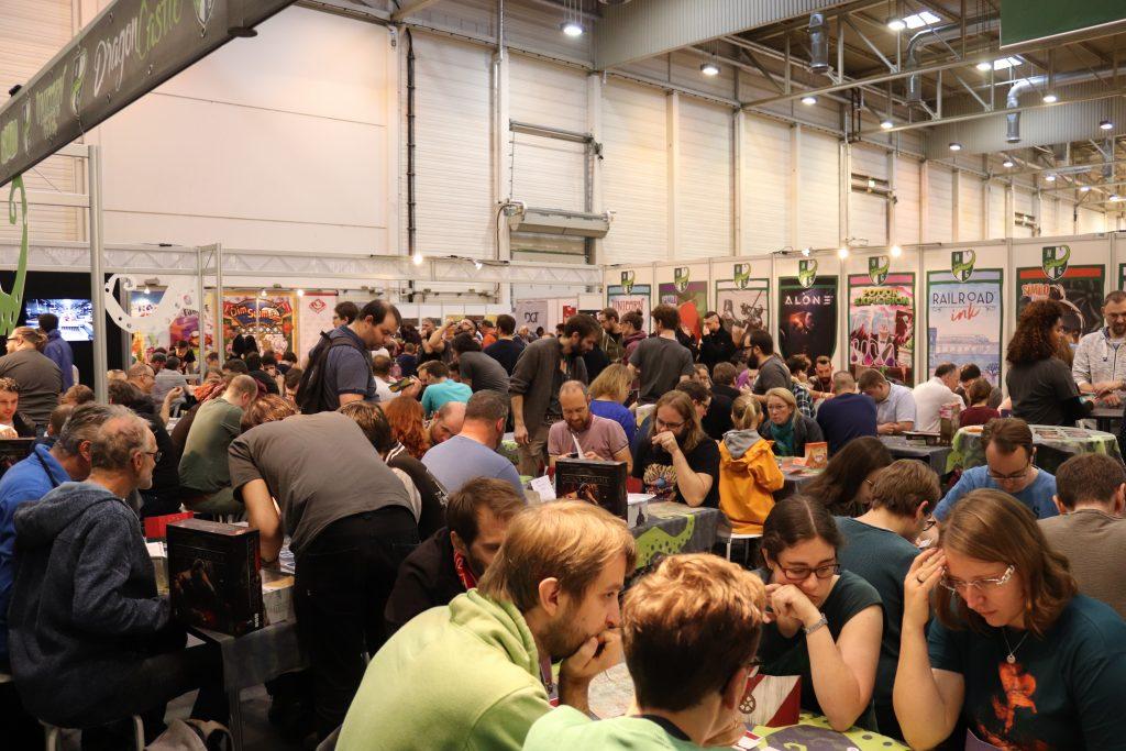Essen Spiel'19 visitors