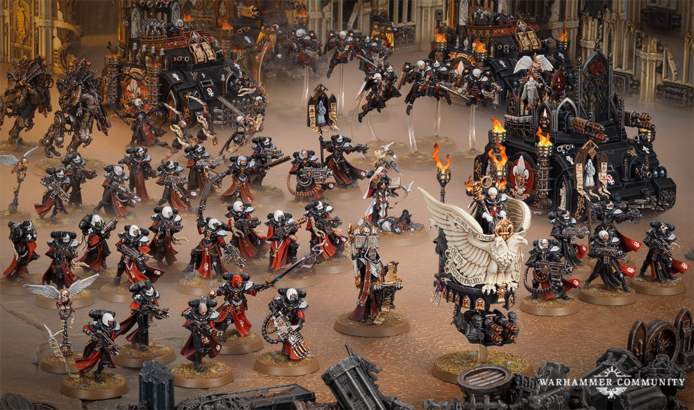 Sisters of Battle new releases