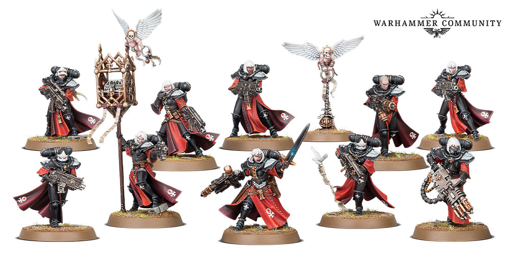 Sisters of Battle Squad