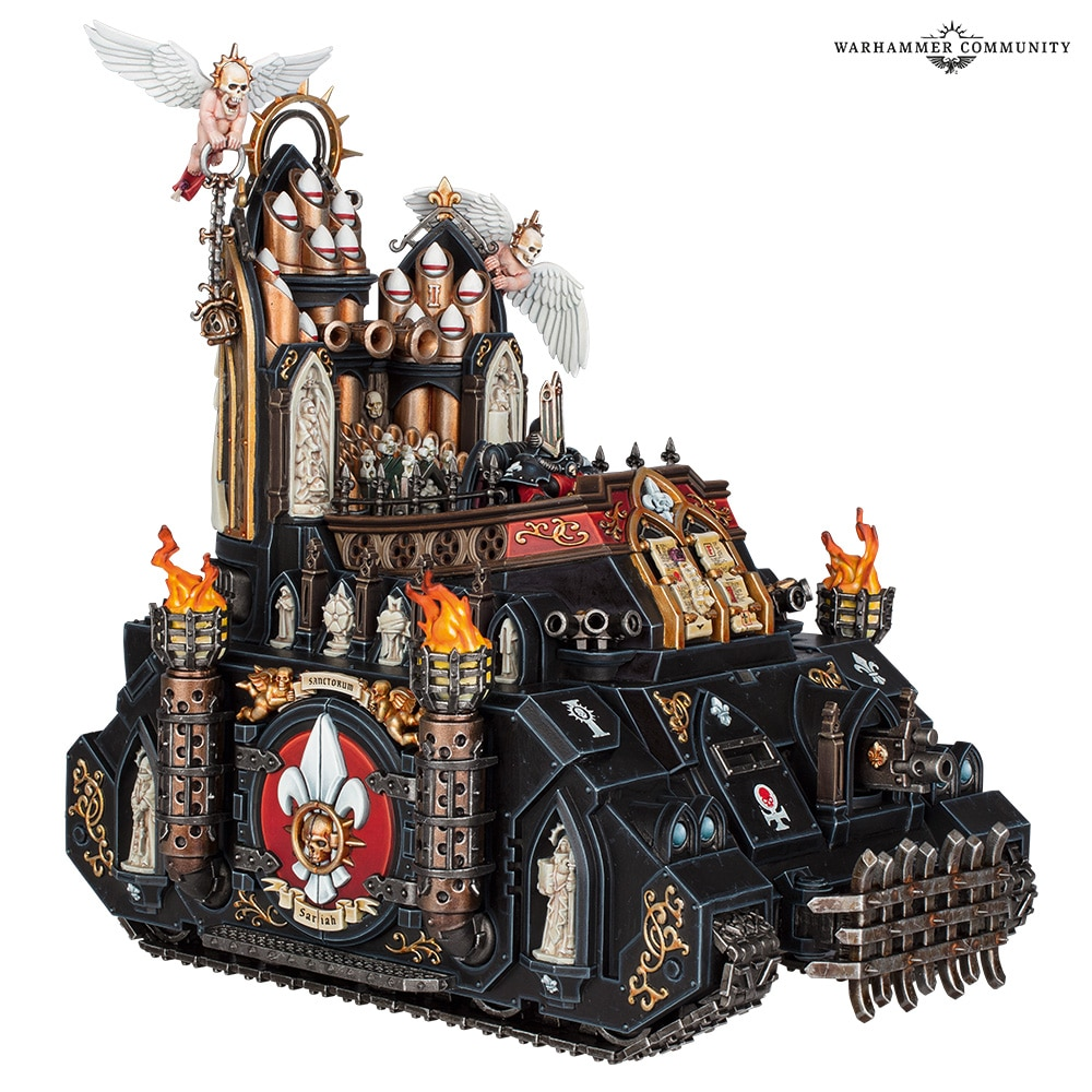 Sisters of Battle Exorcist Tank