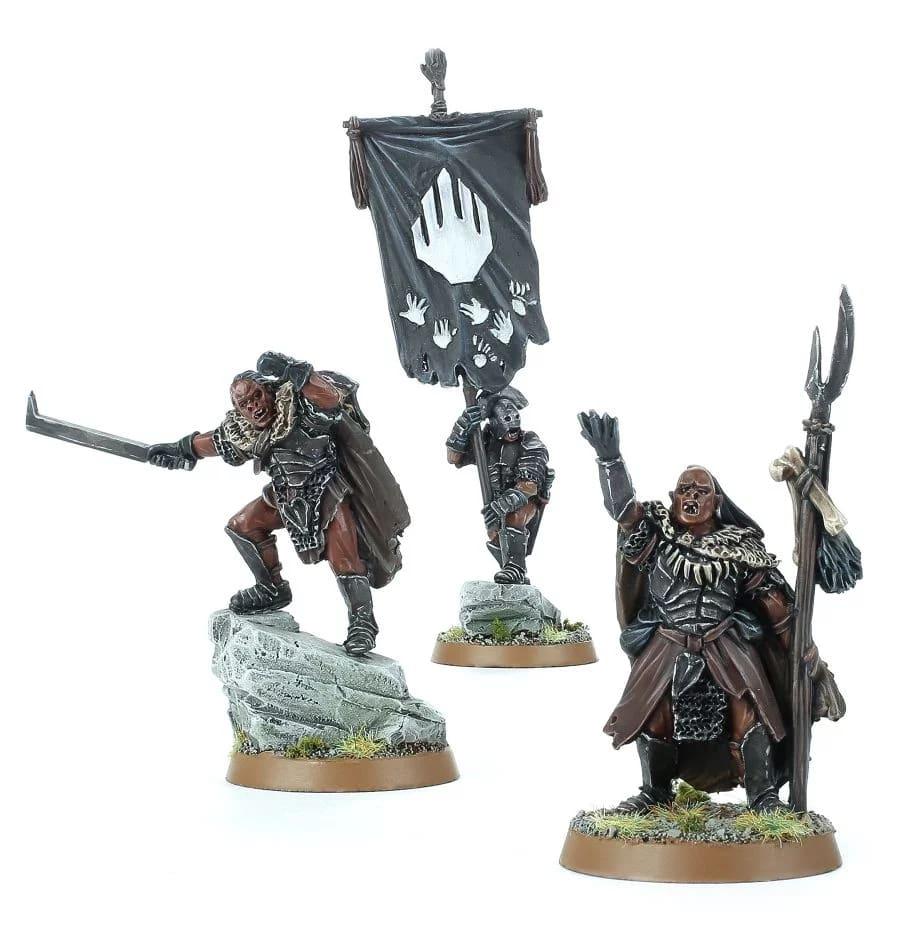 Uruk-hai miniatures