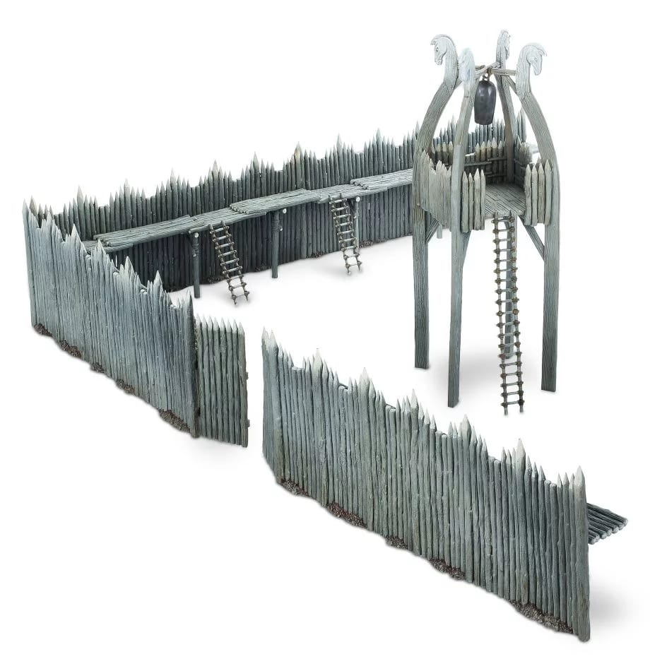 Set of new fortifications for Rohan